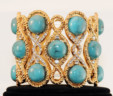 Blue Statement Bracelet