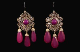 Fuchsia Fantasy Earrings