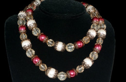 Elegantly Pink Necklace