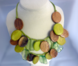 Green Congo Necklace & Earring Set