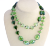 Green With Envy Necklace & Earring Set