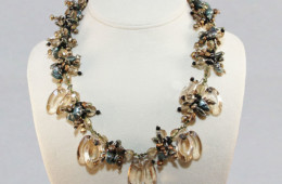 Taupe Treasure Necklace