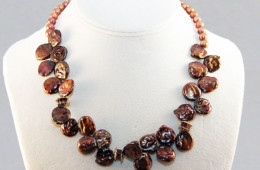 Babbling Bronze Necklace